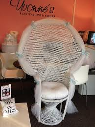Bridal Shower Chair Wicker Bridal Shower Chair Yvonne U0027s Invitations And Favors