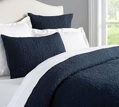 Blue Linen Bedding - linen bedding pottery barn