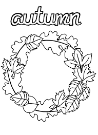 collecting fall leaves in autumn coloring pages batch coloring