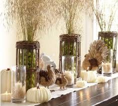 focus on the centerpieces we could use wheat bundles and