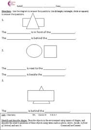 Commoncore Math Worksheets Kindergarten Common Math Worksheets Geometry All Standards