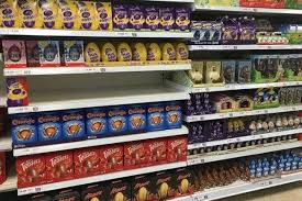 easter eggs for sale this shop is selling half price easter eggs already wales online