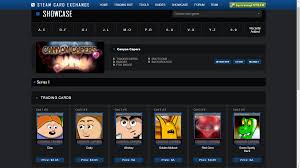 steam trading cards are here now for capers crazymoo