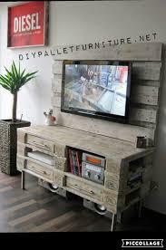 meuble fait en palette 25 best meuble tv palette ideas on pinterest meuble tv en