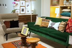 Green Sofa Living Room Decorating Ideas With A Green Sofa