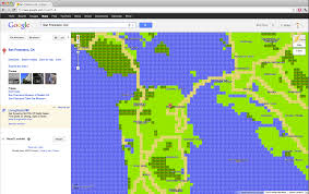 Google Maps Area 51 Awesome Look Google Maps In 8 Bit The Journal Of Awesome