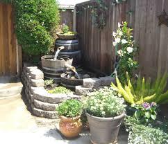 backyard water fountain diy home outdoor decoration