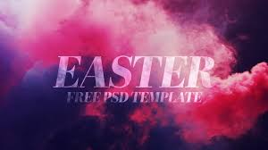 free easter colored smoke photoshop template u2013 church motion graphics
