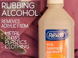 Drinking Rubbing Alcohol Blindness 5 Liquids That Can Remove Dried Acrylic Paint From Surfaces
