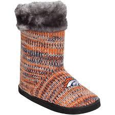womens boots denver s denver broncos peak knit boots