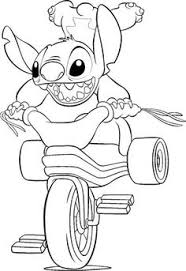 stitch coloring pages kids printable free coloring pages
