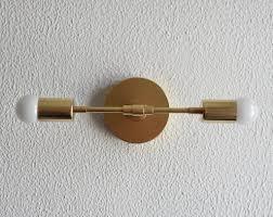 Gold Bathroom Vanity Lights Wall Sconces Illuminatevintage Gold Bathroom Vanity Lights Genersys