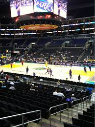 Staples Center Seat Map Staples Center Section 109 Row 18 Seat 10 Los Angeles Sparks