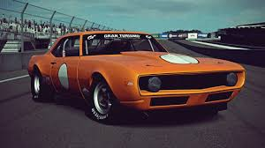 chevy camaro drag car gt6 chevrolet camaro z28 race car 69 exhaust
