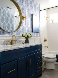 how to paint existing bathroom cabinets small guest bathroom refresh blair interior