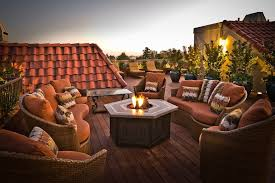fire pit wood deck deck ideas with fire pit deck traditional with outdoor potted