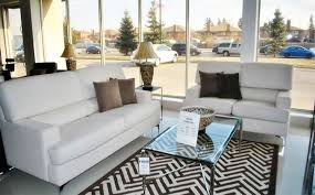 lovely stripes in rug setting off white sofa furniture ideas