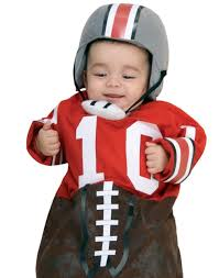 Boy Infant Halloween Costumes Football Bunting Newborn Baby Sports Fan Infant Halloween Costume