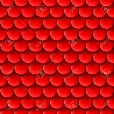 abstract background with roof tile pattern in red color royalty