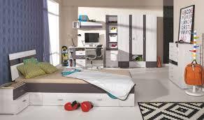 chambre ado lit 2 places lit enfant avec matelas rangement tiroir pour gagner de la place