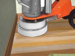 how to sand hardwood floors with pictures wikihow