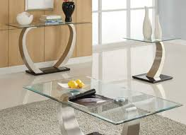Contemporary Living Room Tables by Contemporary Coffee Table Glass Metal Marylouise Parker Org
