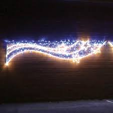 chasing snowflake christmas lights aluminium outdoor light christmas snowflakes motif twinkle leds