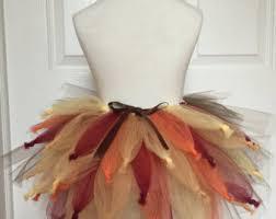 turkey tutu skirt turkey tutu costume thanksgiving tutu skirt