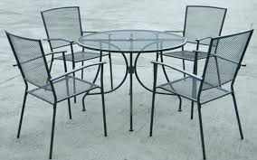 Metal Mesh Patio Table Wire Mesh Patio Furniture Luisreguero
