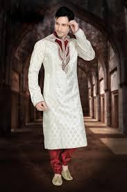 indian wedding dresses for and groom white crystals mens ethnic indian wears sherwani kurta