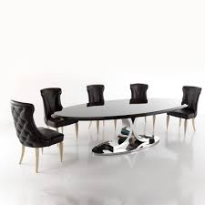 high end designer italian oval dining table juliettes interiors