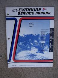 1979 evinrude outboard motor 2 hp model 2902 service manual lots