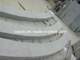 china bush hammered blue limestone steps for outside china blue