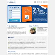 e book landing page design templates to increase sales of your e