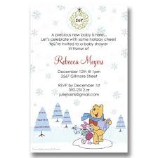 Christmas Baby Shower Invitations - holiday invitations it u0027s cachet baby