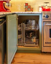 Storage Solutions For Corner Kitchen Cabinets Kitchen Cabinets Corner Solutions Faced