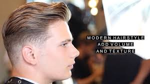 short modern hairstyle add volume and texture w vent brush