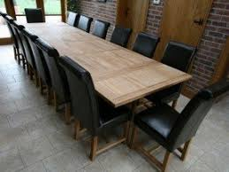 Dining Table 12 Seater Dining Room Tables That Seat 12 Foter