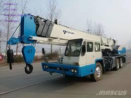 used tadano tl250e all terrain cranes year 2010 price 27 956
