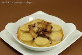 cuisiner du boudin blanc cassolettes de cèpes et boudins blancs sauce foie gras péché de
