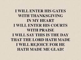 ppt i will enter his gates with thanksgiving in my i will