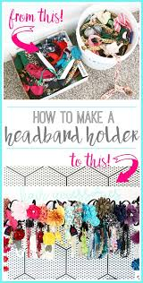 headband organizer diy headband organizer sugar bee crafts