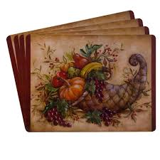 sheffield home protective decorative cork backed placemats set of