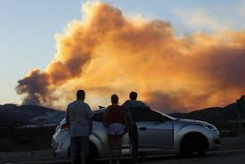 California Wildfires Burn Cars by 82 640 People Evacuated From Massive 30 000 Acre California