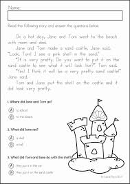 worksheets for kindergarten reading templates and comprehension