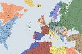 Europe Map In 1914 by Cartography Supremacy 1914 Map Making