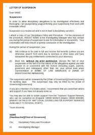 9 letter of suspension noc certificate