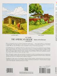 the american house styles of architecture coloring book dover