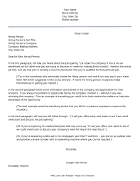 letter of interest sample letter of interest format