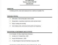 Free Pages Resume Templates 83 One Page Resume Format Pages Resume Templates Drop Cap Pages